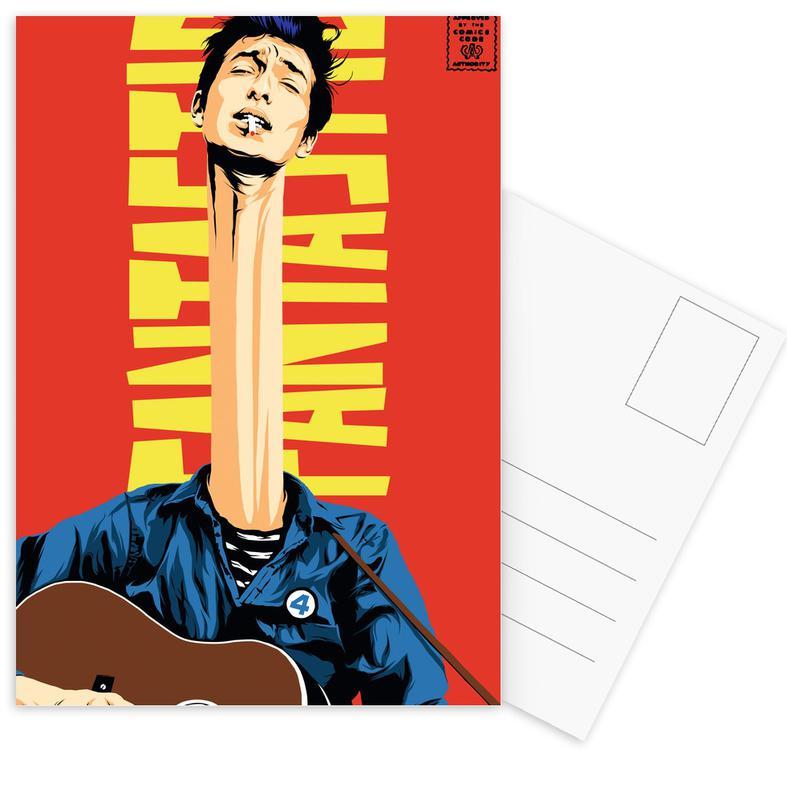 Dylan Mr. Fantastic Postcard Set
