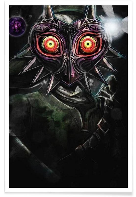 Majora's Mask Link -Poster