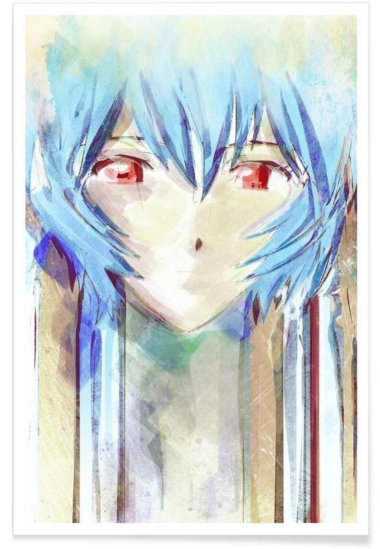 Evangelion  Ayanami Rei Poster