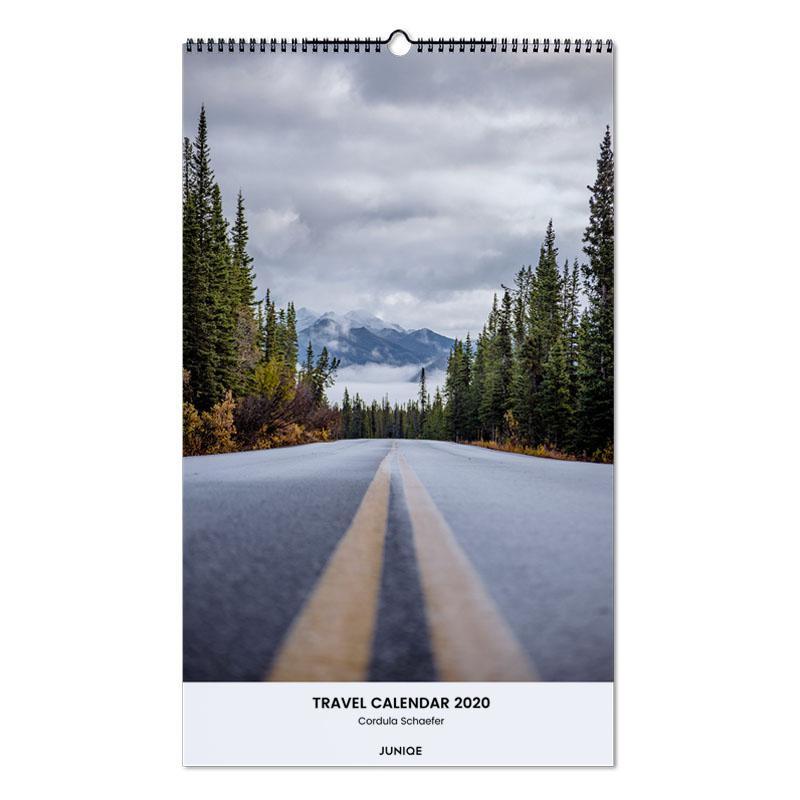 Travel Calendar 2020 - Cordula Schaefer Wall Calendar