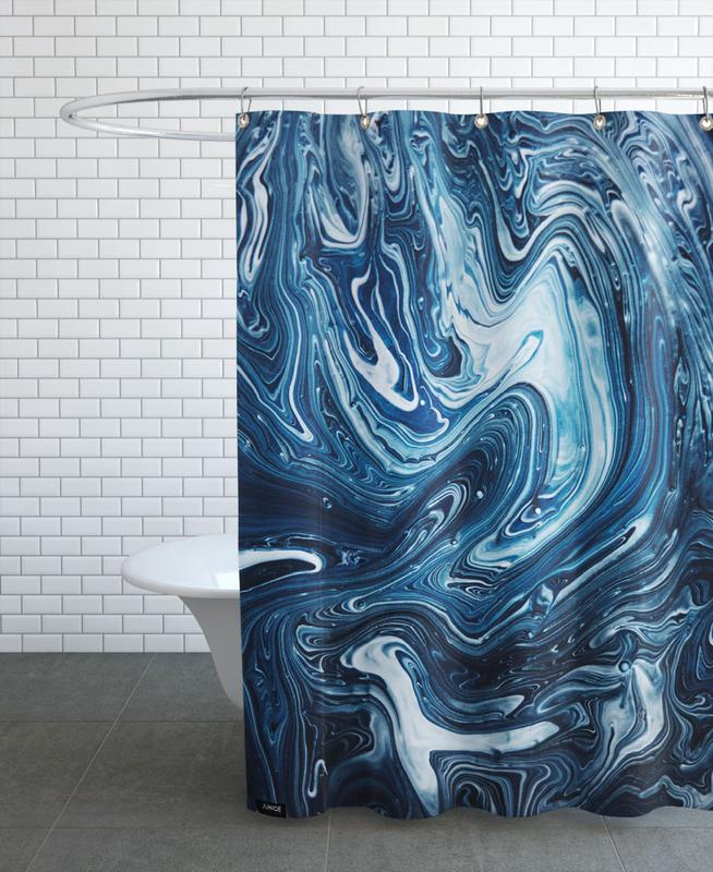 Gravity 3 Duschvorhang | Bad | Mehrfarbig | Polyester