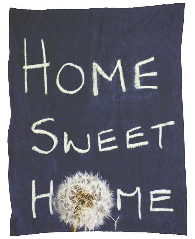 Home Sweet Home Fleece Blanket