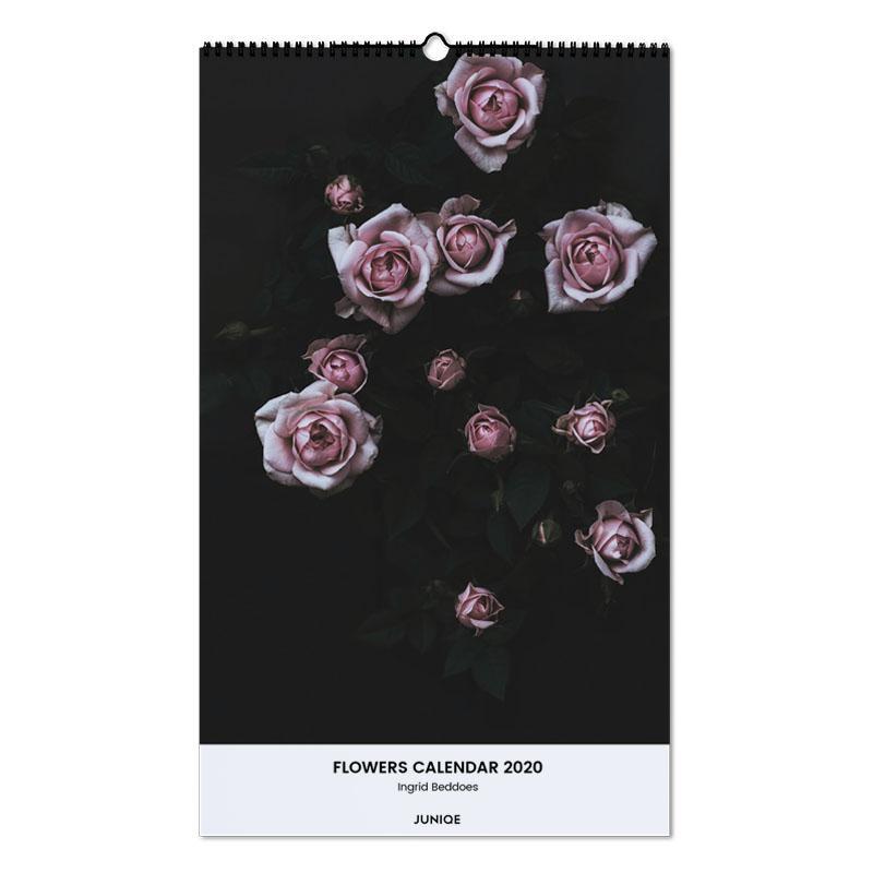 Flowers Calendar 2020 - Ingrid Beddoes Wall Calendar