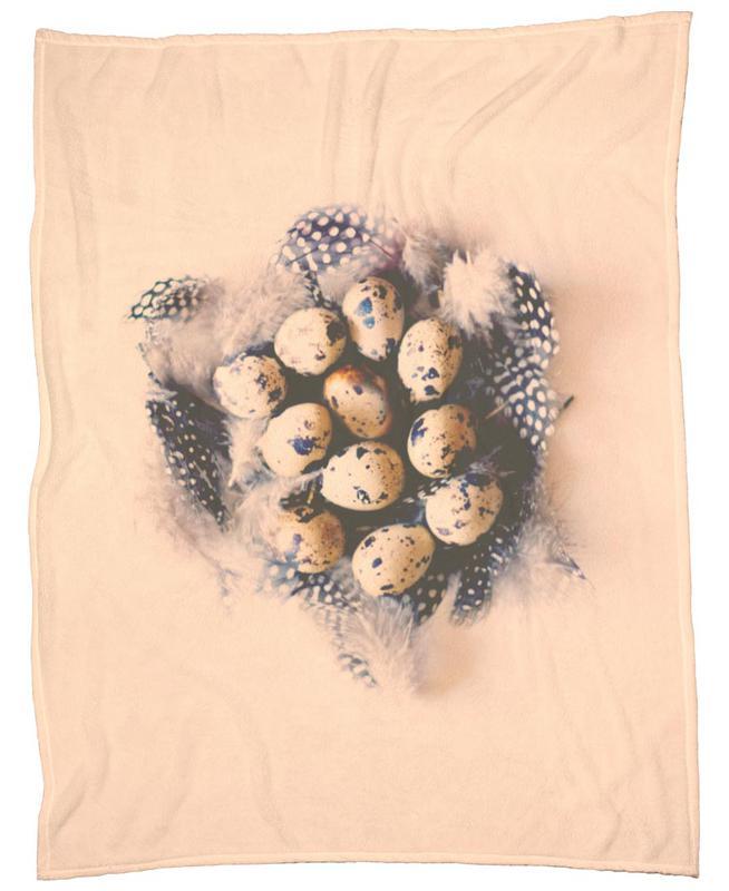 quail eggs Fleecedecke | Heimtextilien > Decken und Kissen > Mehr-Decken | Mehrfarbig