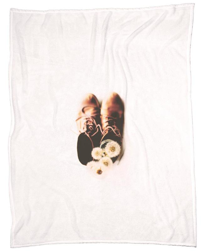 Do Small Things With Much Love Fleece Blanket