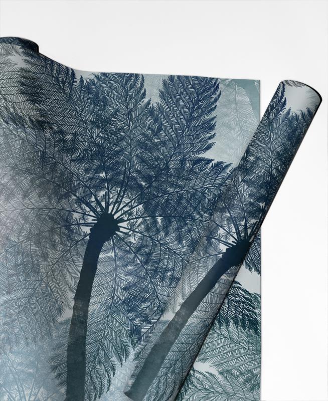 Bali Palm Geschenkpapier | Weihnachten > Geschenkideen | Mehrfarbig