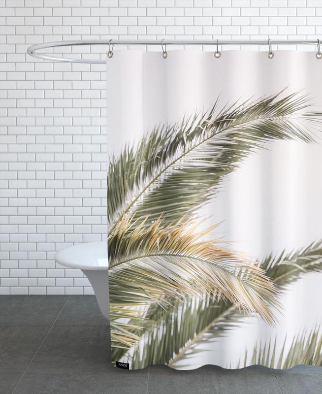 Oasis Palm 3 -Duschvorhang