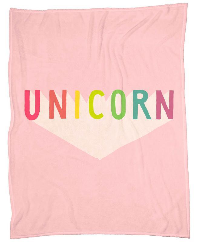 Unicorn -Fleecedecke