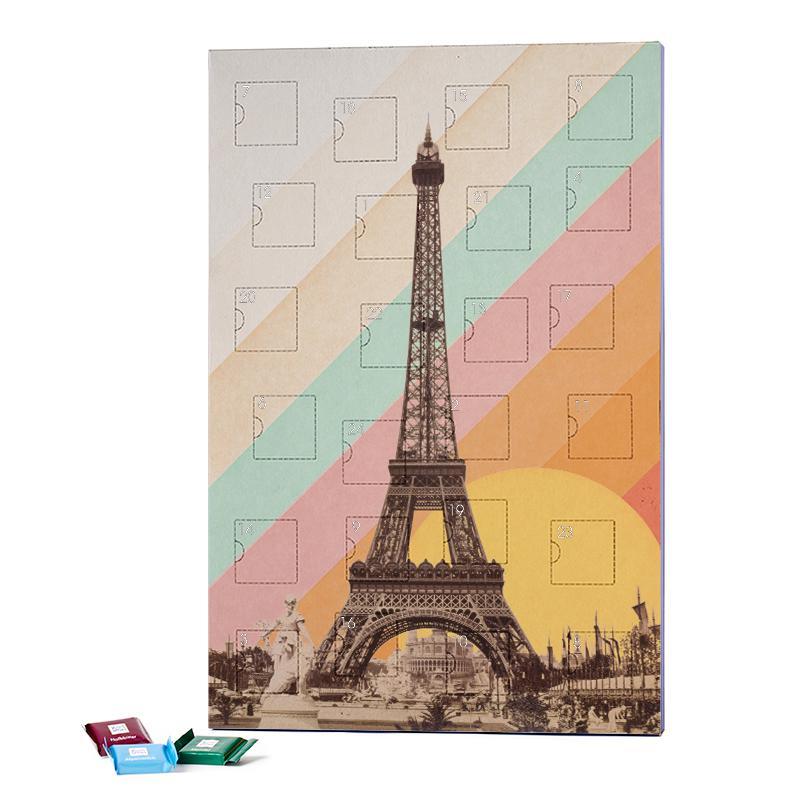 Eiffel Tower Rainbow 2019 Chocolate Advent Calendar - Ritter Sport