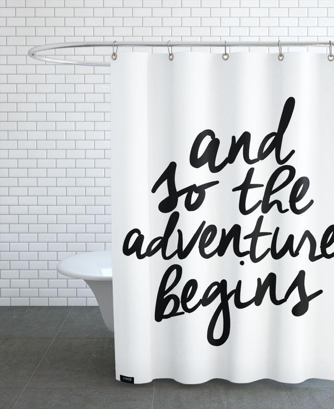 Adventure Begins -Duschvorhang