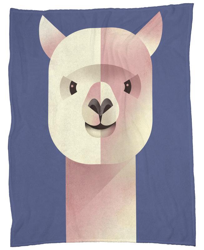 Alpaka Fleecedecke | Heimtextilien > Decken und Kissen > Mehr-Decken | Mehrfarbig