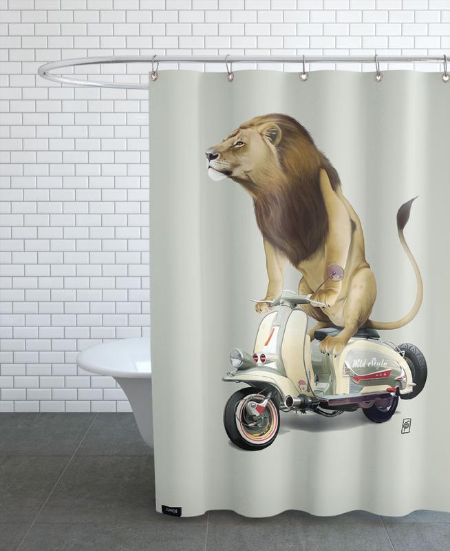 Lamb (Colour) Duschvorhang | Bad > Duschen > Duschvorhänge