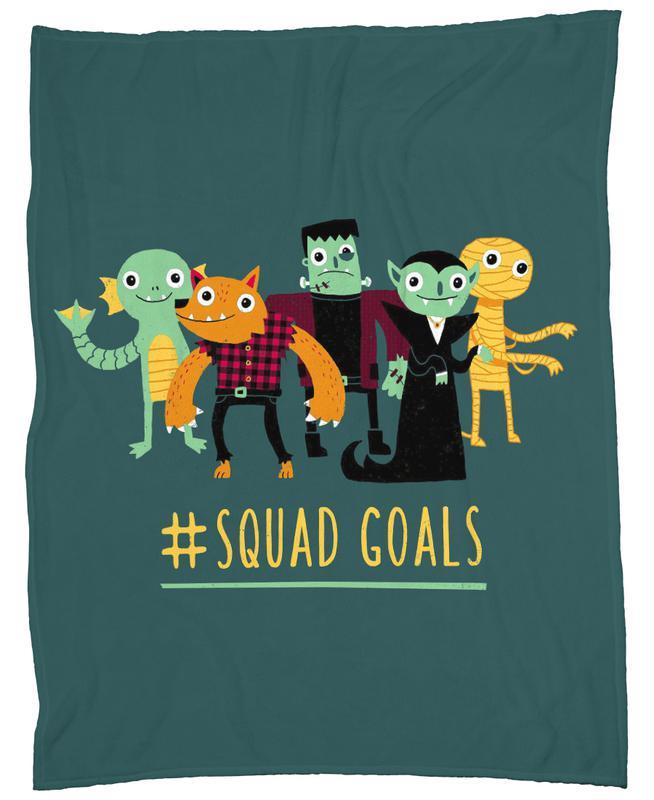 Squad Goals Fleece Blanket