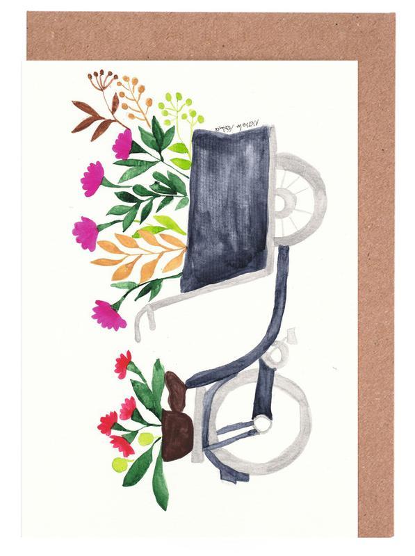 Flowers Delivery -Grußkarten-Set