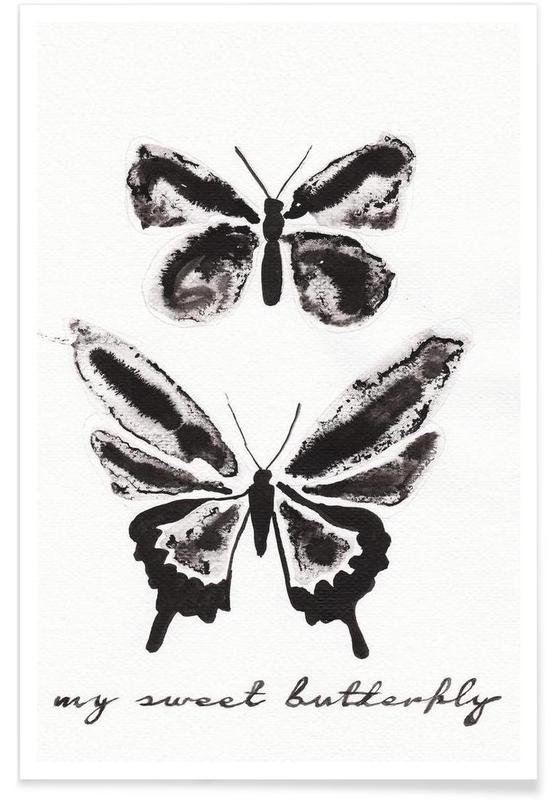 My sweet butterfly poster