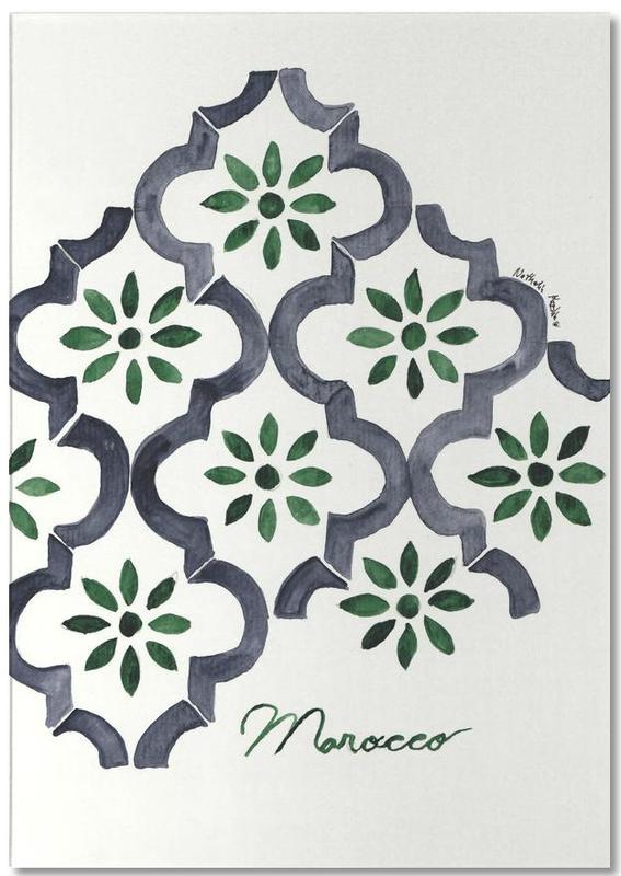 Morocco -Notizblock