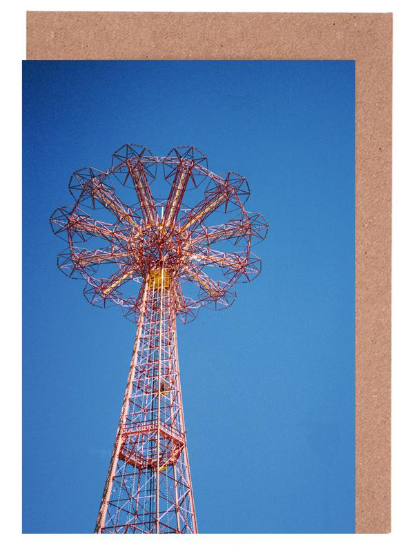 Coney Island 1 Greeting Card Set