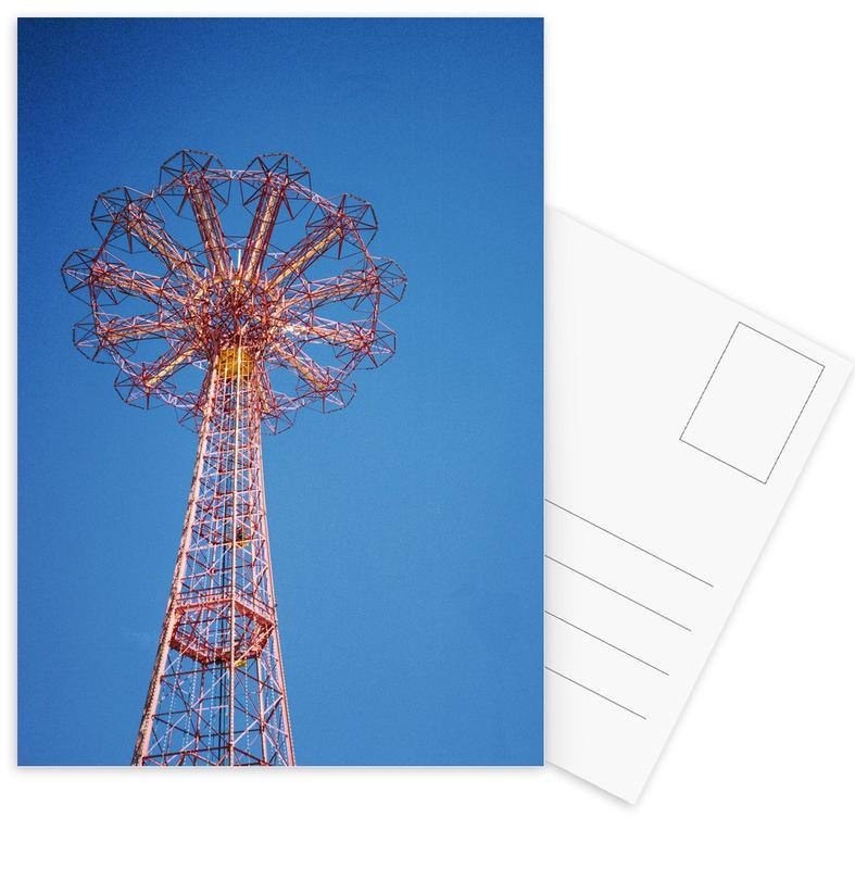 Coney Island 1 Postcard Set