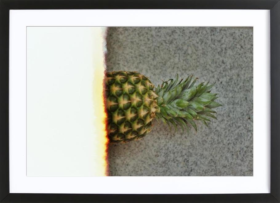 Ananas on film Framed Print