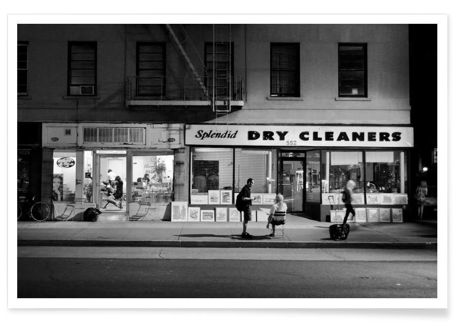 Dry Cleaners Poster