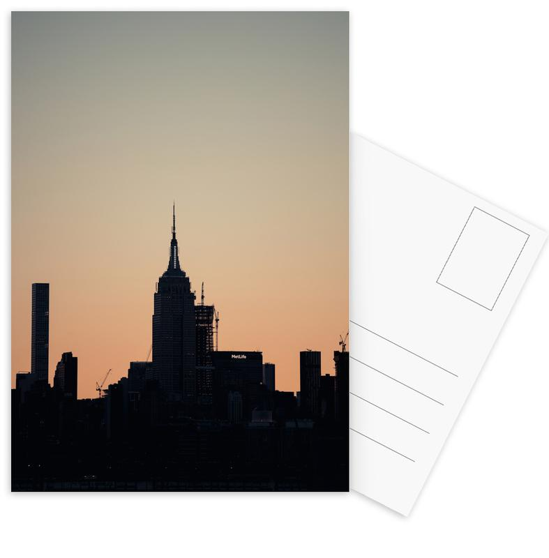 Empire State Silhouette cartes postales