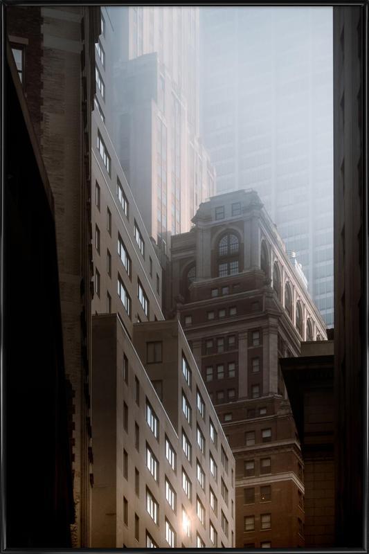 Manhattan Morning Framed Poster