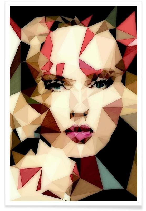 Bohemian Girl Premium Poster