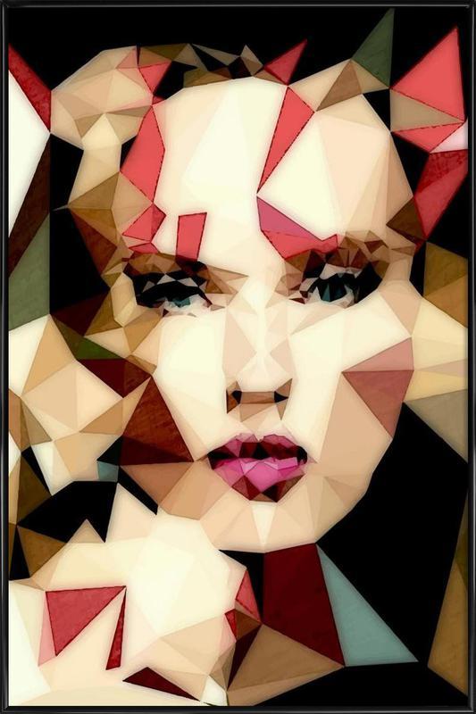 Bohemian Girl Gerahmtes Poster