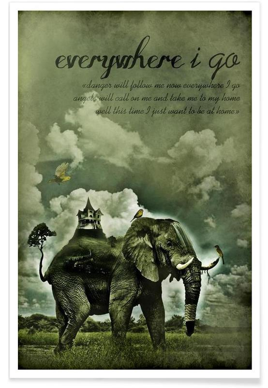 Everywhere I Go Poster