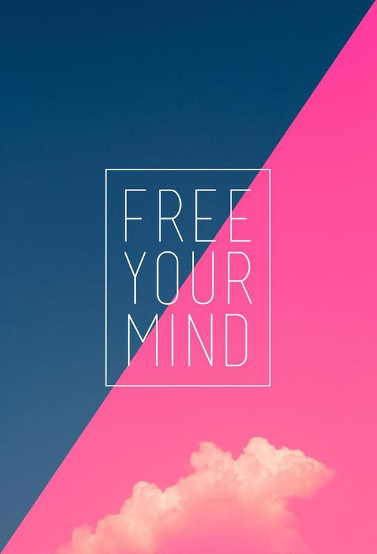 Free Your Mind III -Acrylglasbild