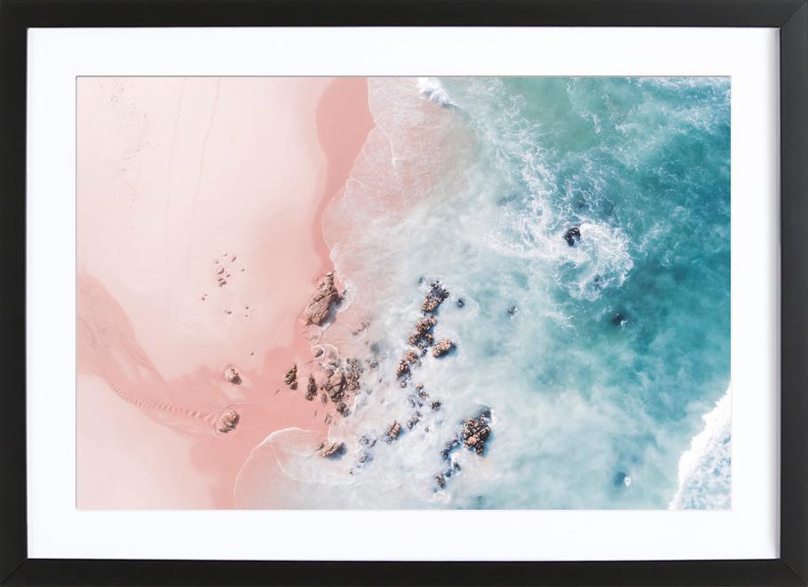 Sea Bliss -Bild mit Holzrahmen
