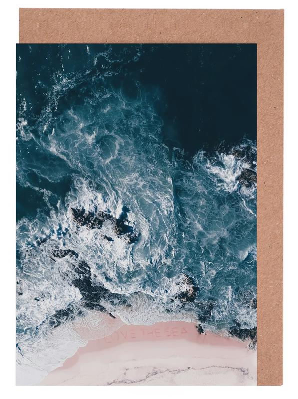 I Love The Sea Greeting Card Set