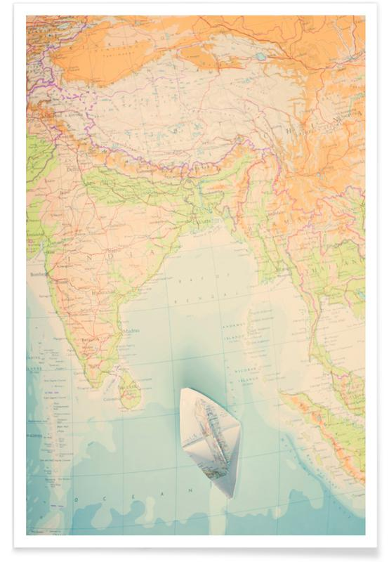 map-india -Poster