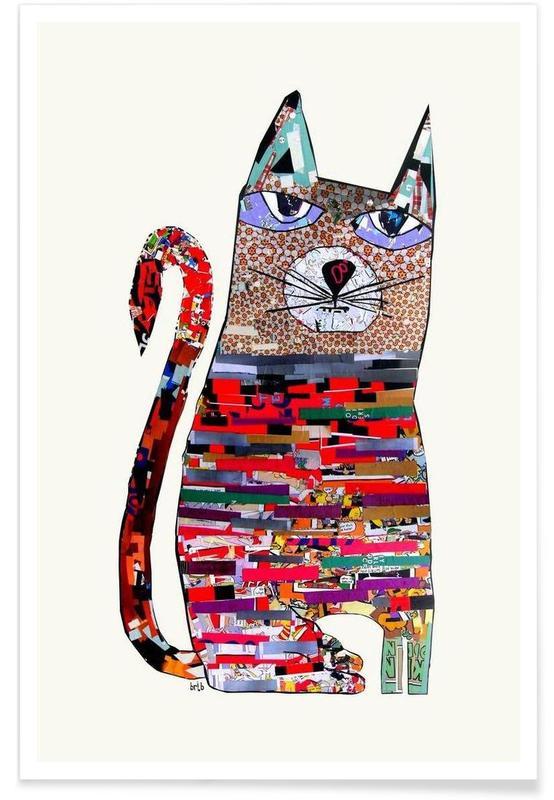 pepper cat Poster