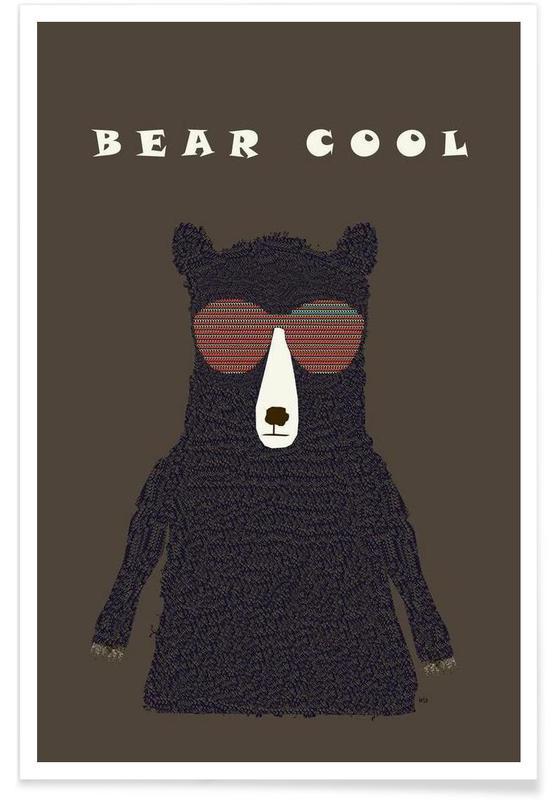 bear cool Poster