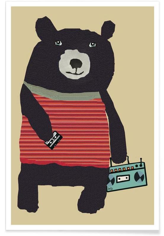 boomer bear Poster
