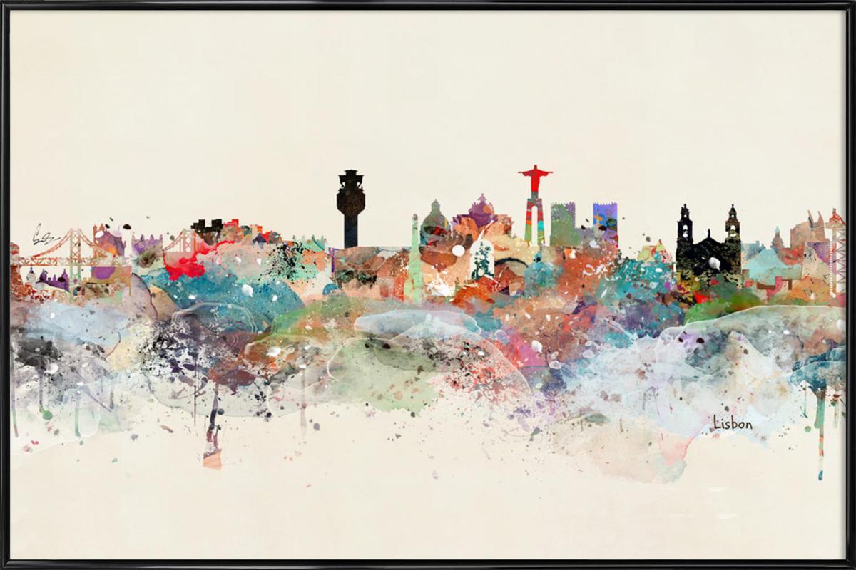 Lisbon Framed Poster