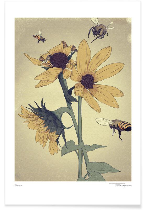 Bees affiche