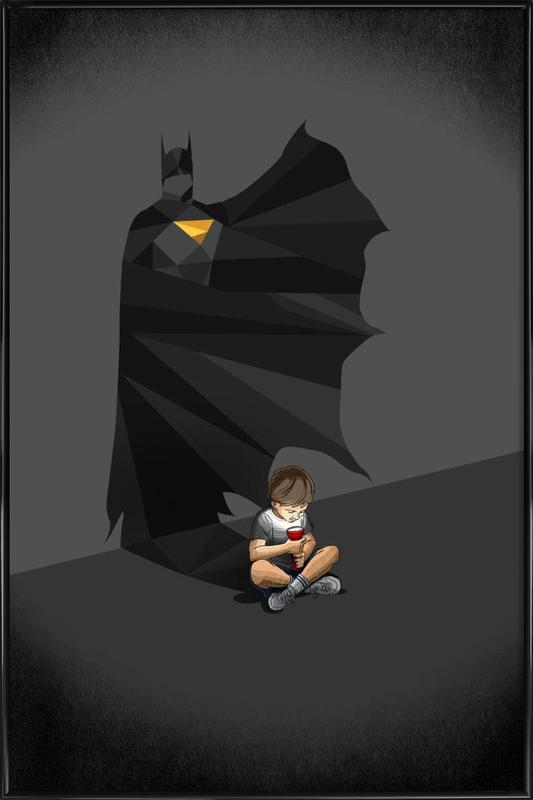 Walking Shadow - Hero 2 Framed Poster