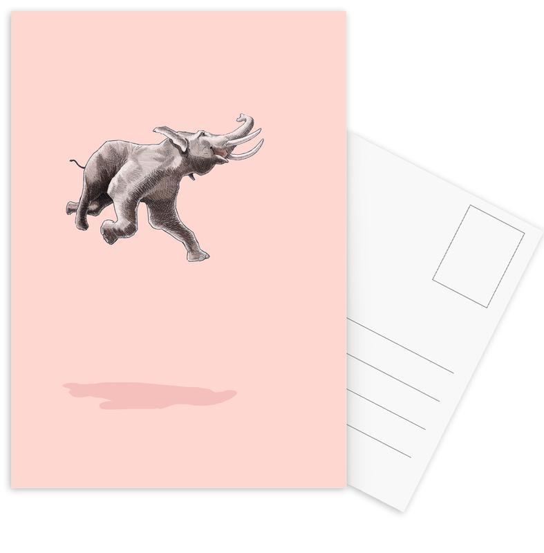 Float Like a Bird -Postkartenset