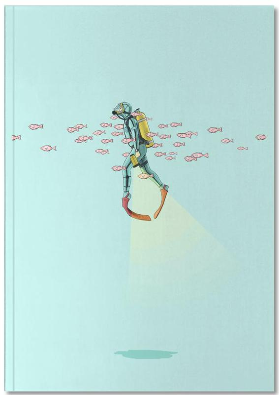 Float Under the Sea Notebook