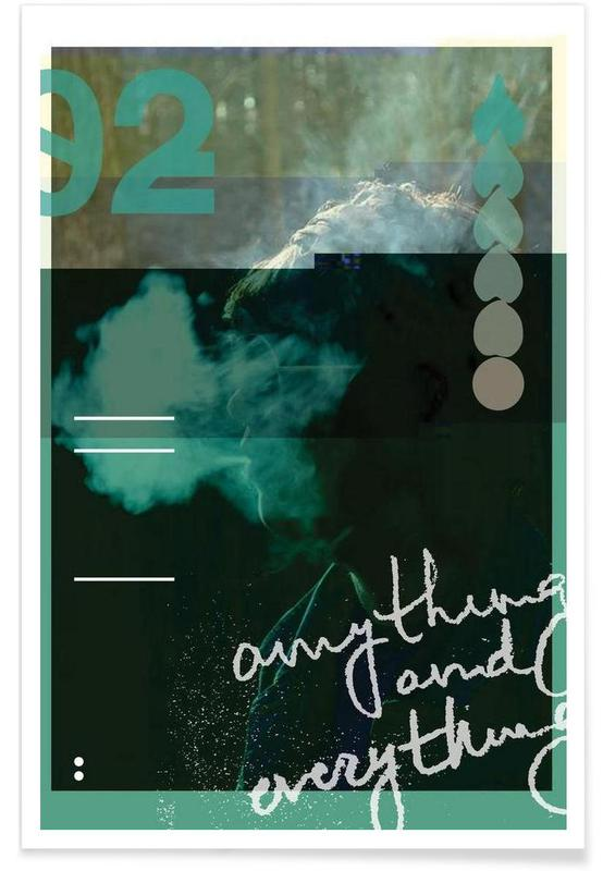 Glitch - Anything and Everything -Poster