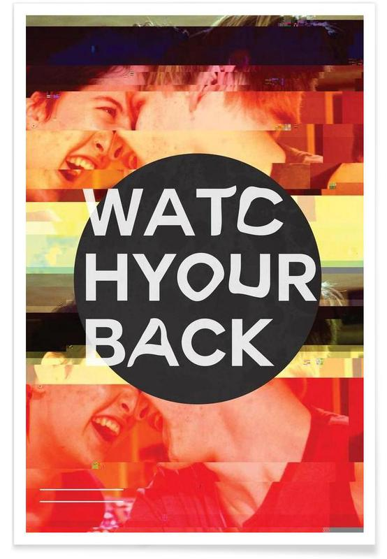 Glitch - Watch Your Back poster