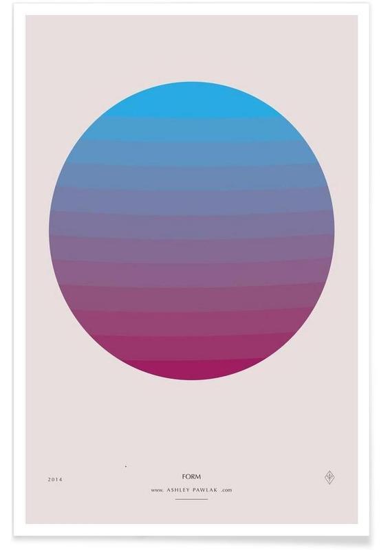 Senses - Form Poster