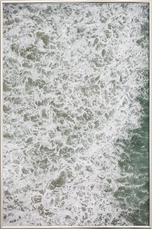 Oceanic 02 Poster in Aluminium Frame