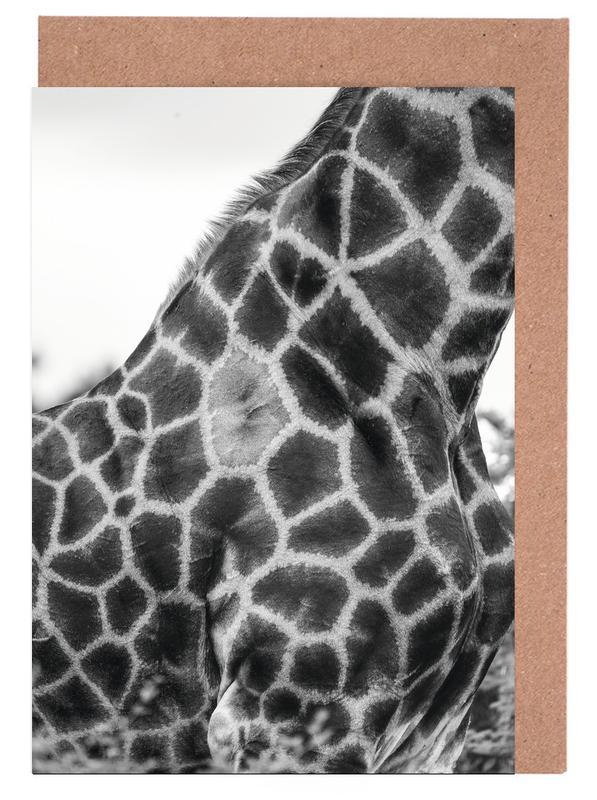 Giraph detail Greeting Card Set