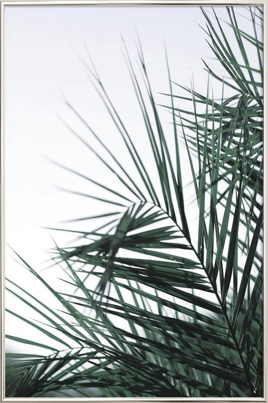 Foliage -Poster im Alurahmen