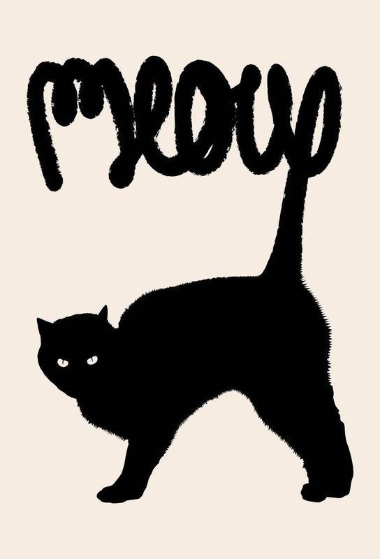 Meow alu dibond