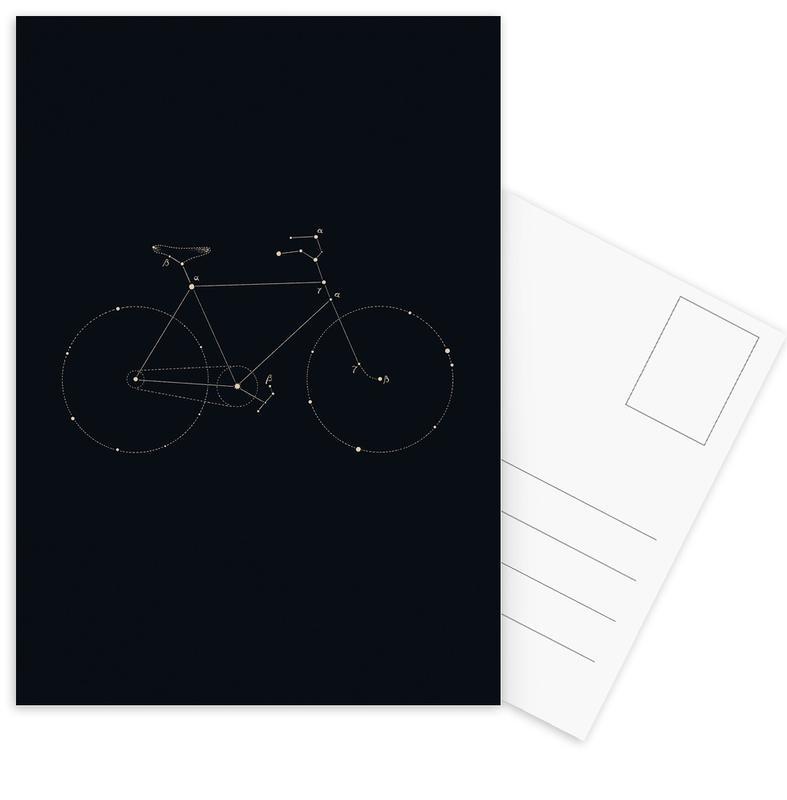 Bike Constellation -Postkartenset