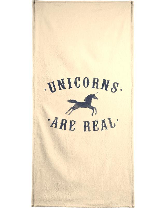 Unicorns Are Real I -Handtuch